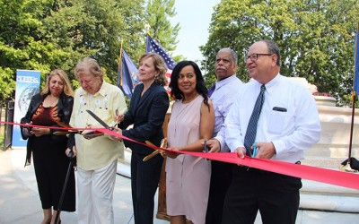 Former 'Civic Virtue'  Site now  'Women's Plaza in Queens'