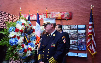 City Marks Somber 16-Year Anniversary  of Sept. 11 Terror Attacks