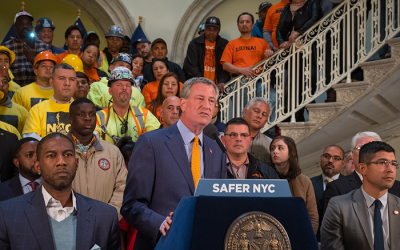 Construction Site Safety among Dozen Pieces  of Legislation Signed into Law by Mayor