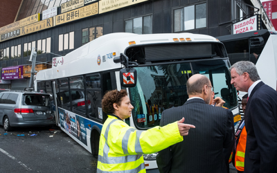 Post Safety Letter-Grades  on Charter Buses: Schumer