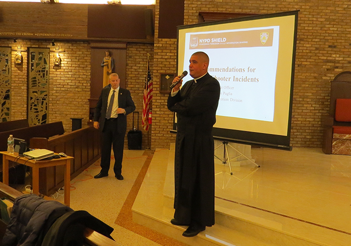 Howard Beach Community Learns more  about Active Shooters