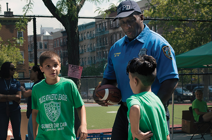Police Athletic League 'Lights On Afterschool'  Celebration Honors NYPD Officer