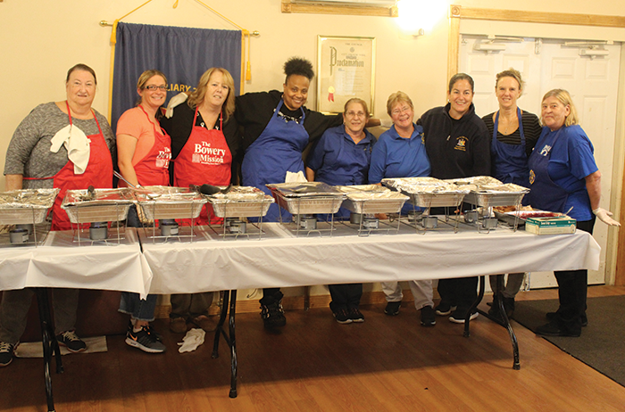 Pheffer Amato, Broad Channel VFW Serve Thanksgiving Meal to St. Albans Vets
