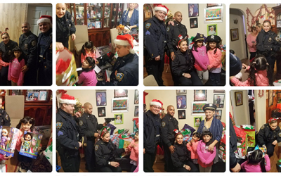 102nd Precinct Shows the Spirit of the Season