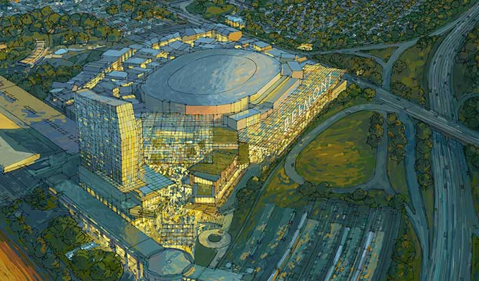 Islanders Headed back Home to $1B Sports and  Entertainment Facility at Belmont Park