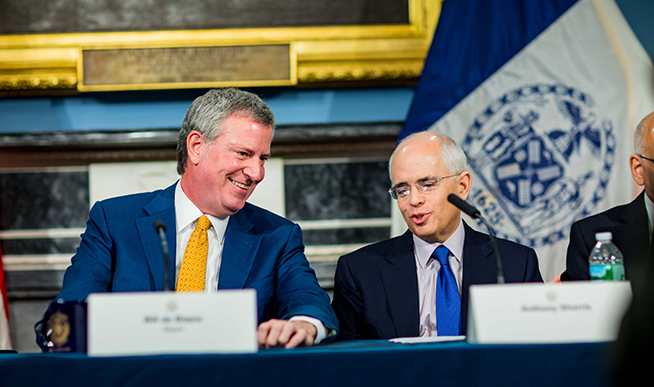 De Blasio Announces Major Changes to Senior Staff