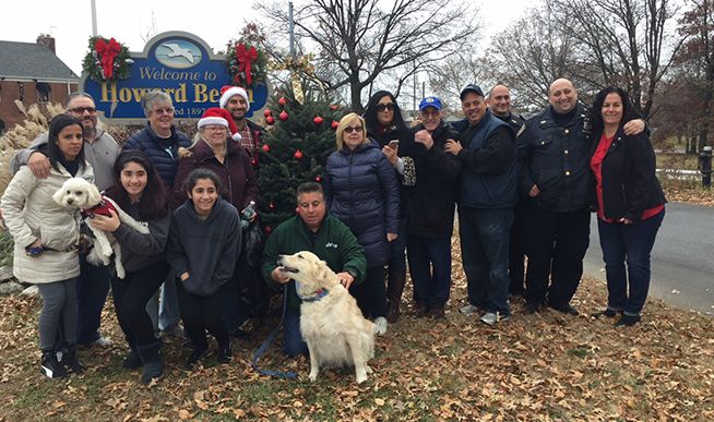 Howard Beach Gets Into the Holiday Spirit