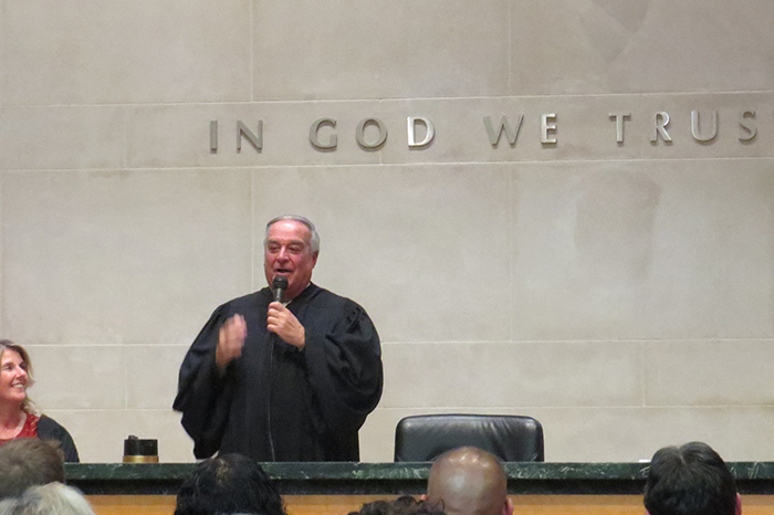 Symbol of Justice: Howard Beach's Catapano-Fox Sworn in as NYC Civil Court Judge