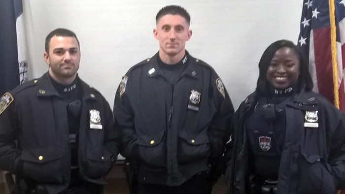 NYPD Touts Teamwork  of Hero Officers  at Ozone Park Blaze