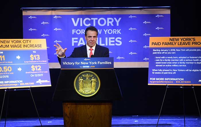 Cuomo Announces Launch  of Economic Justice Programs for Middle Class