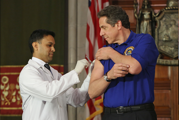 State Alarmed by Drastic Rise in NY Flu Cases
