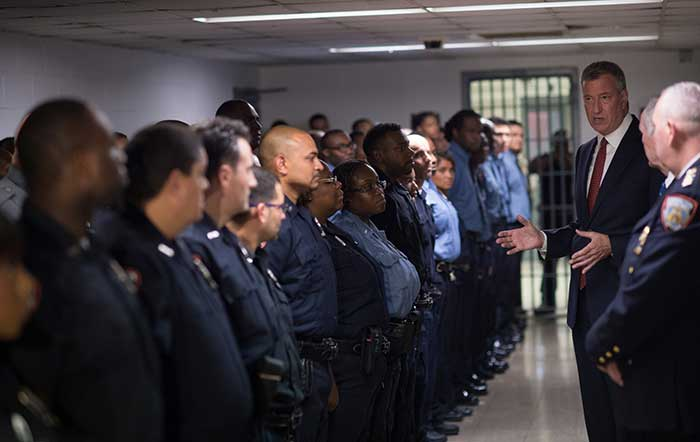 Jail Population Numbers Spur Announcement that City will Close First Rikers Island Facility by Summer 2018