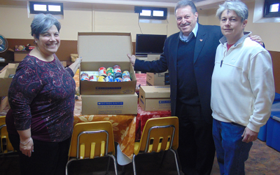 Addabbo Constituents Spread Love to Pantries