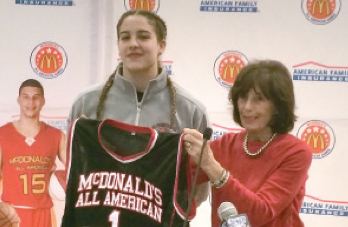 St. Francis Prep Hoops Star  Named McDonald's All-American