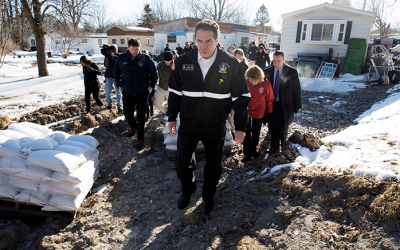 Warm Temps, Rain will  Increase Ice Jam Flooding Threats: Cuomo