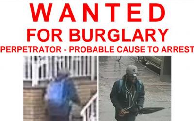 Cops Seek  Richmond Hill  Burglary Suspect