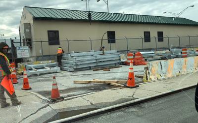Hey MTA,  Clean up Bridge Lot: Pol