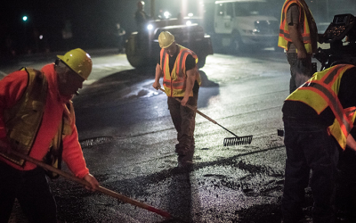DOT Dispatches Crews to City Streets  for Second Winter Pothole Blitz