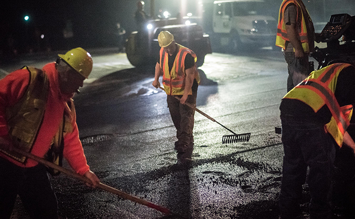 DOT Dispatches Crews to City Streets  for Second Winter Pothole Blitz