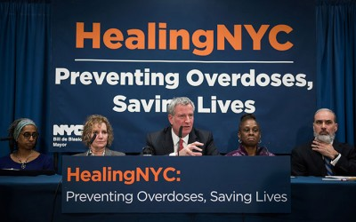 Mayor Heralds $22M Expansion of City Plan  to Reduce Opioid Overdose Deaths