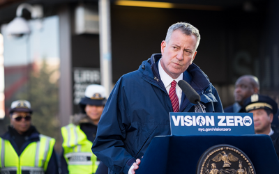 Mayor Unveils 'Clear Intersections'  Congestion Initiative