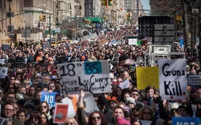 City Joins Millions across Country in  'March for Our Lives' and Common-Sense Gun Laws
