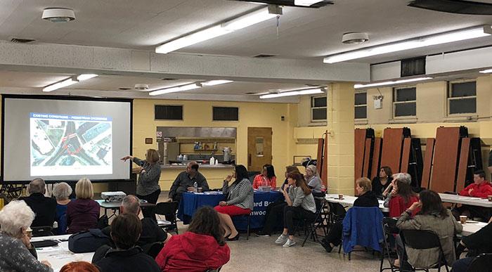 Civic Association Hails Lindenwood Traffic Triangle Plan