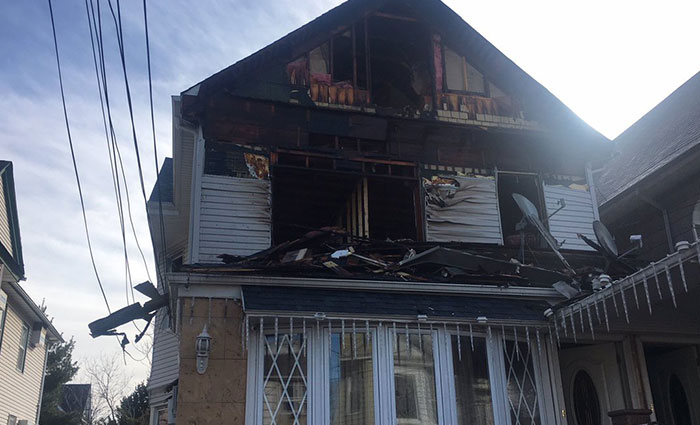 Three Rescued from Fire at Illegally Converted  Richmond Hill Home