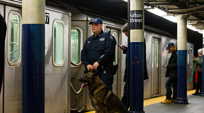 NYPD Expands Neighborhood Policing  to City Subway System