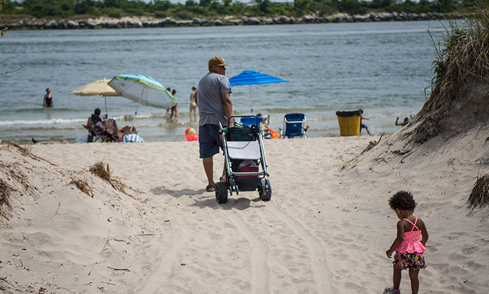Elected Officials Furious  over Partial Closure of Rockaway Beach