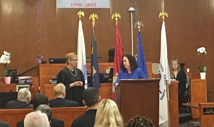Queens Drug Court  Marks 20 Years