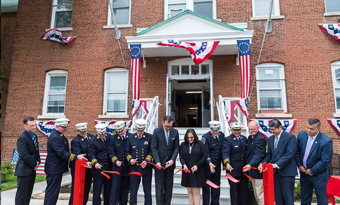 City Reopens Emergency Medical Services Museum  at Fort Totten