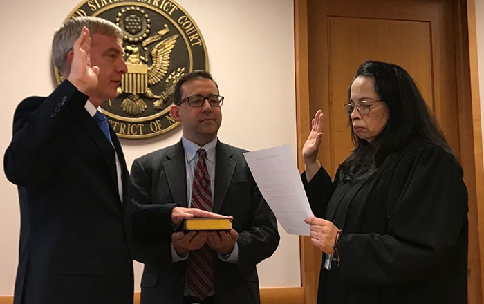 Donoghue Officially U.S. Attorney for EDNY