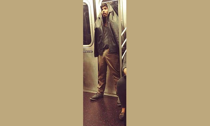 Police Still Hunting  F Train Perv