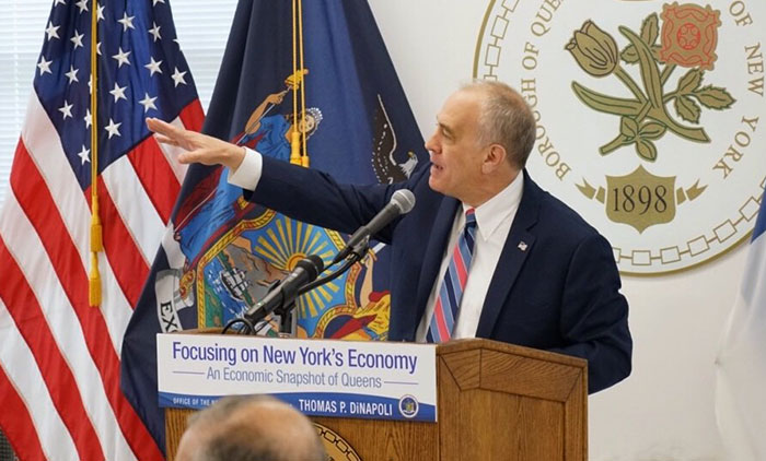 State Comptroller Develops  Picture-Perfect 'Snapshot' of Borough Economy
