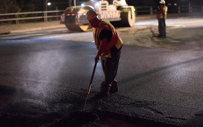 Record 5,000 Lane Miles of City Roadways  have Been Repaved: City