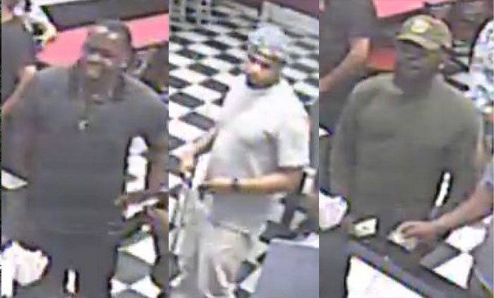 Trio Wanted for Savage Robbery