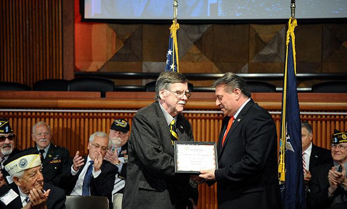Glendale Vietnam Vet Enters State Senate  Veterans' Hall of Fame