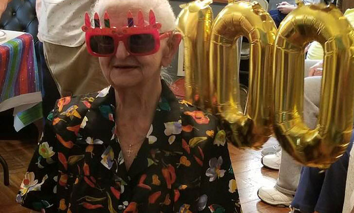 Woodhaven Woman  Celebrates 100th Birthday