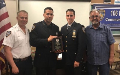 Precinct Commander and Cop of the Month Forged Bond Years Ago in Flushing