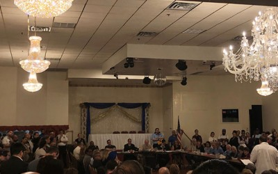 Ozone Park Community Rallies against  Proposed Homeless Shelter Site
