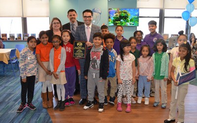 Newly Renovated Library Opens at PS 65