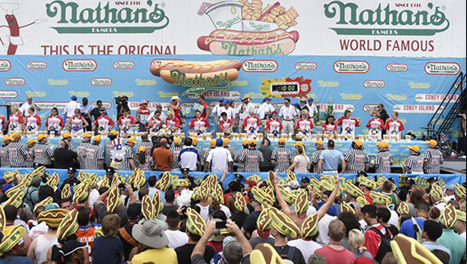 From Fireworks to  Nathan's Famous Franks, City Celebrates America's Independence in Style