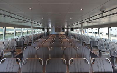 First 350-Passenger NYC Ferry Vessel  Arrives in City Harbor