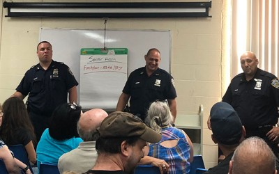 Noise is No. 1 Issue at Cop-Community Meeting