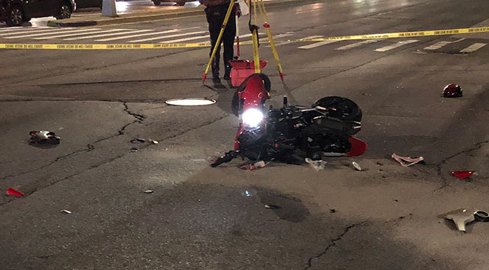 Biker Dies in Howard Beach Crash