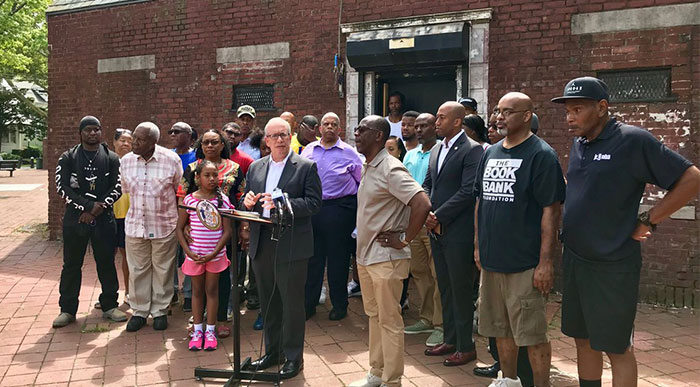 Locals Left Behind  in  Gentrifying  Neighborhoods: Stringer