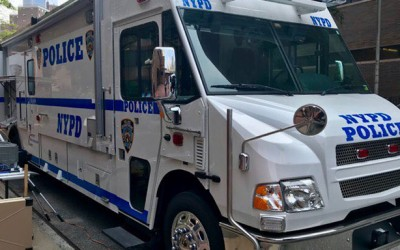 Animal Cruelty Sleuths Tout Mobile Command Post
