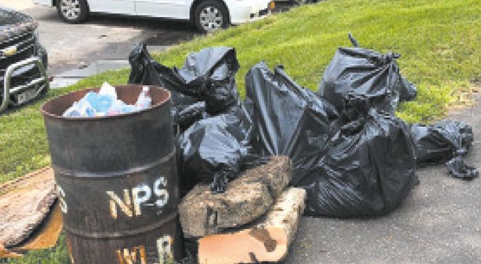 Community Fishermen Reel in Charles Park Garbage