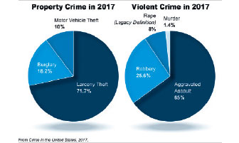 National Violent Crime Decreases Slightly: FBI